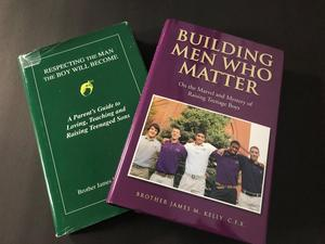 Brother James Kelly, former Xavier principal, wrote two books on parenting.
