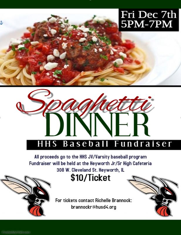 Baseball Fundraiser Flyer