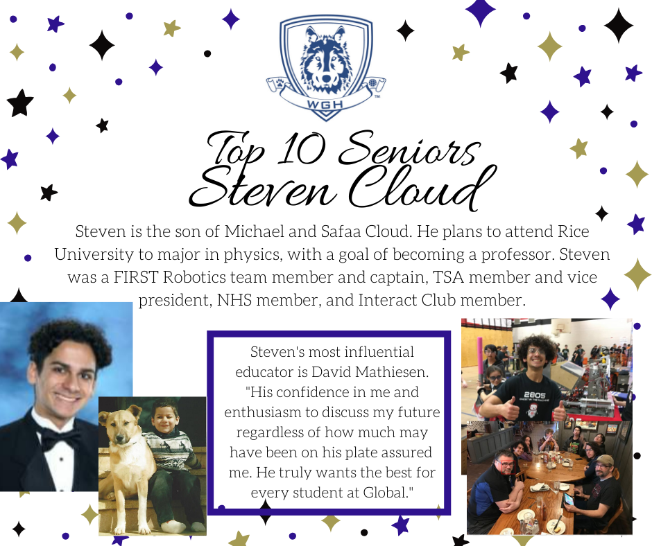 graphic of steven cloud
