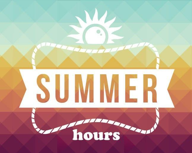 Summer Building Hours/New Family Registration Featured Photo