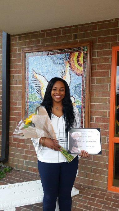 Teacher of the Year - Ms. Spearman