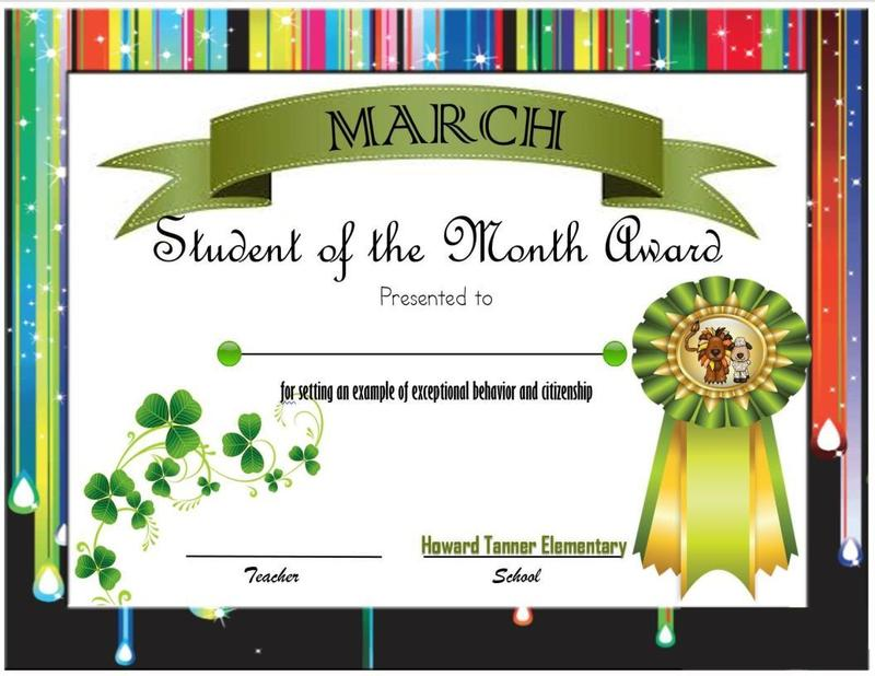 March Student of the Month! Featured Photo