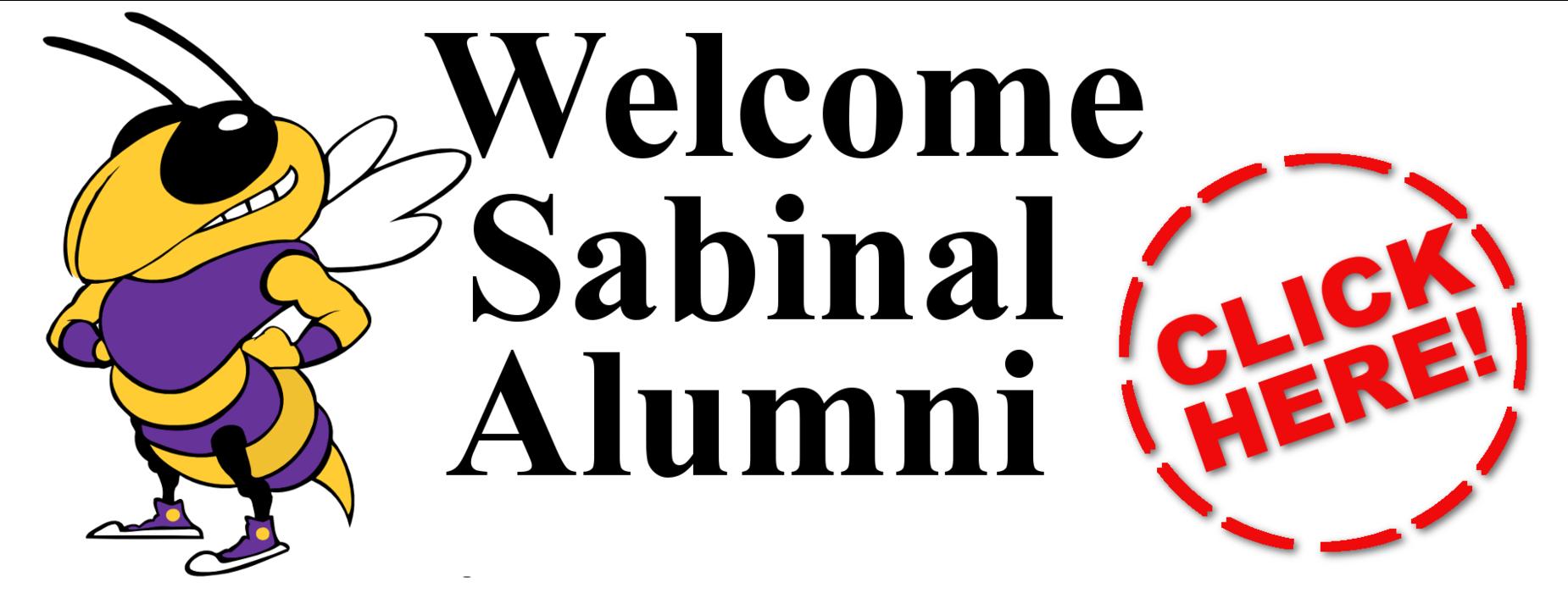 Welcome Sabinal Alumni - Click Here!