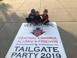 Tailgate welcome