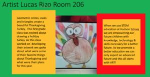 Lucas' turkey and description