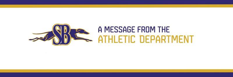 Athletic Dept Message