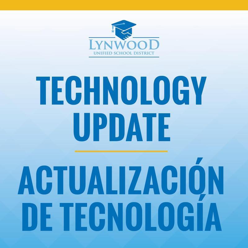 Technology Update/Actualización de Tecnología Featured Photo