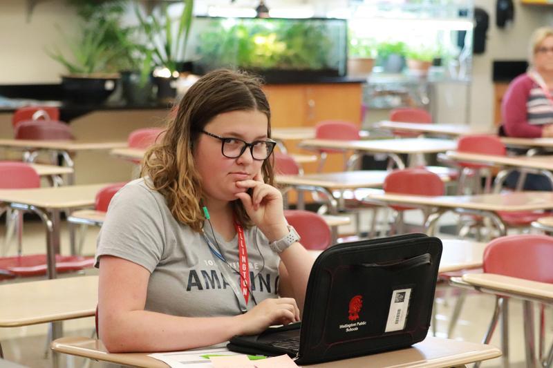 Callaway Wickham CTE NOV 2020 Student of the Month