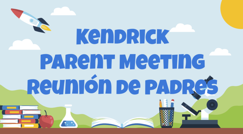 Kendrick Parent Reopening plan Thumbnail Image