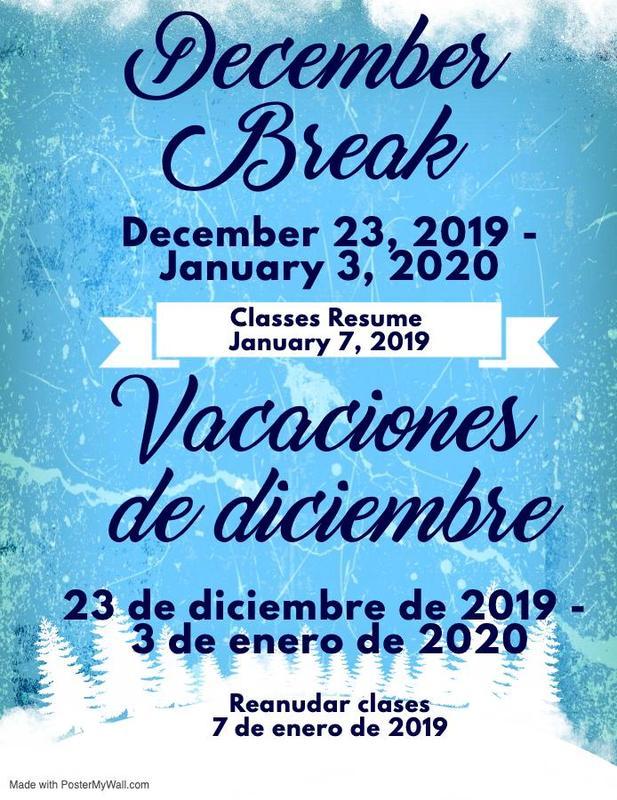 December Break