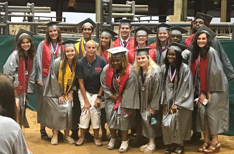 NEHS Graduation Photo
