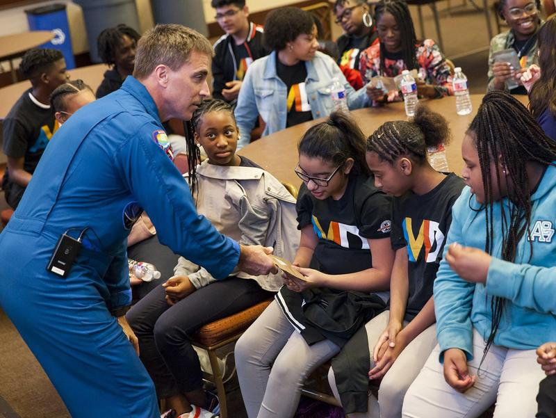 Lancaster ISD Students Get a Glimpse Into Space during NASA day Thumbnail Image