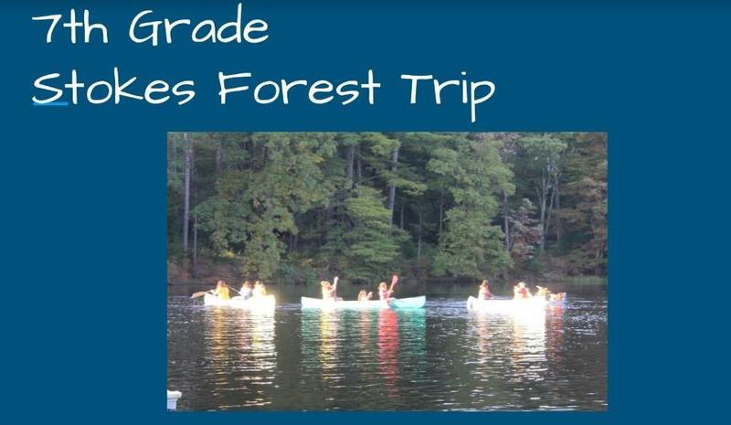 7th Grade Stokes Forest Trip Featured Photo