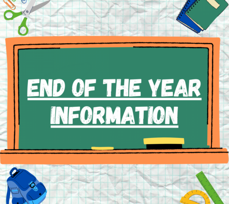 Students - End of the Year Procedures Featured Photo