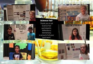 Science Fair Participants
