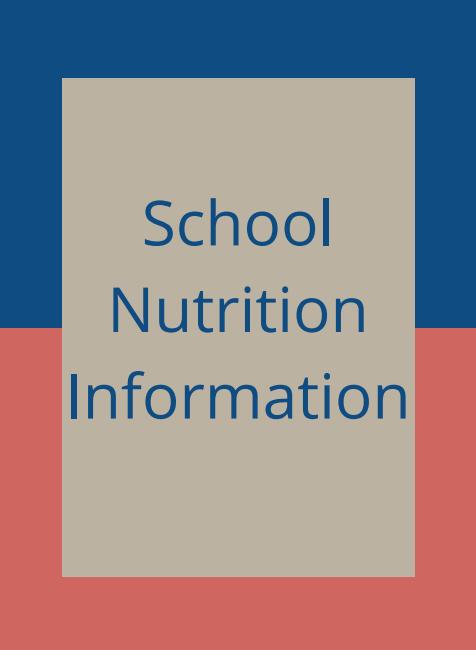 School Nutrition information