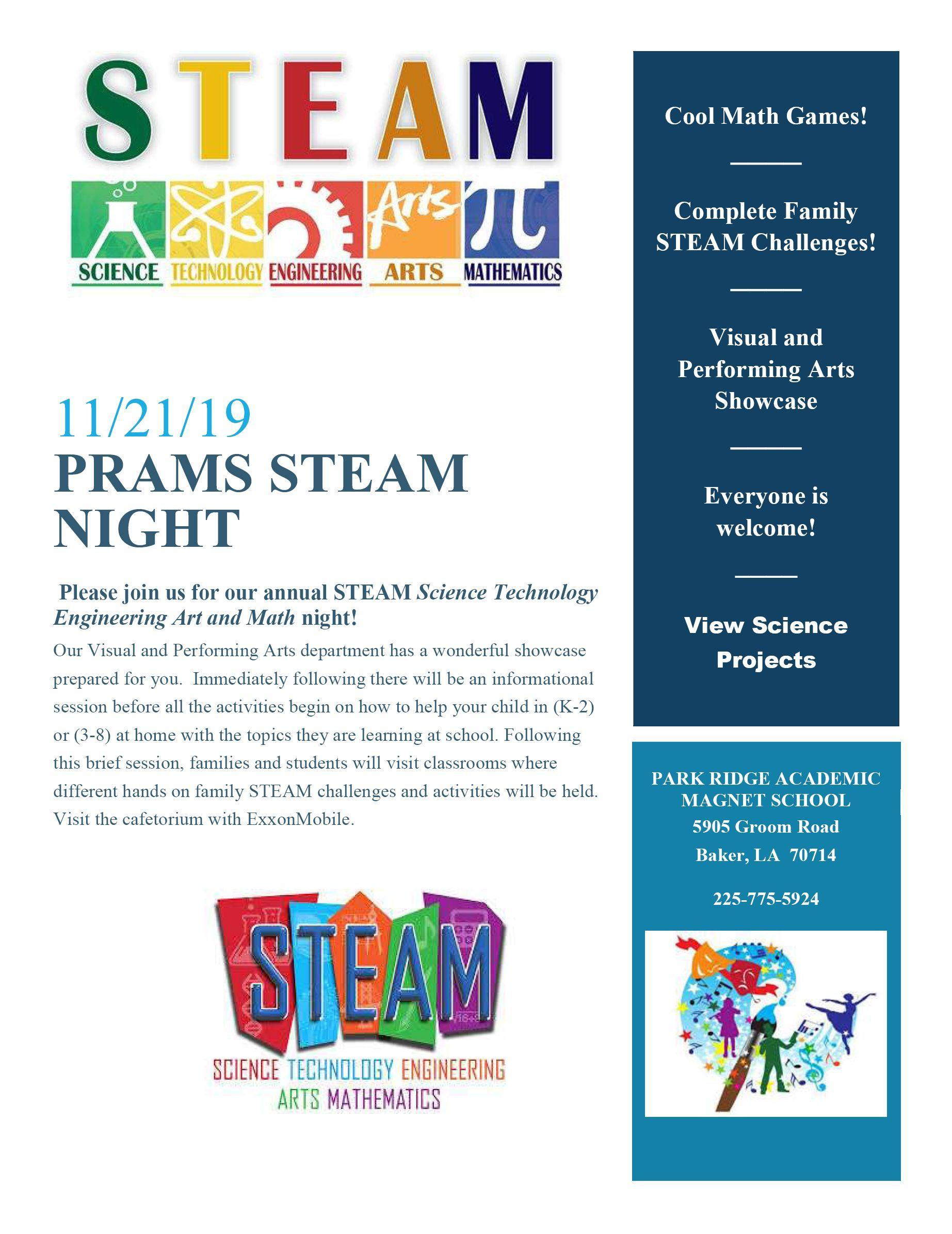 PRAMS STEAM NIGHT