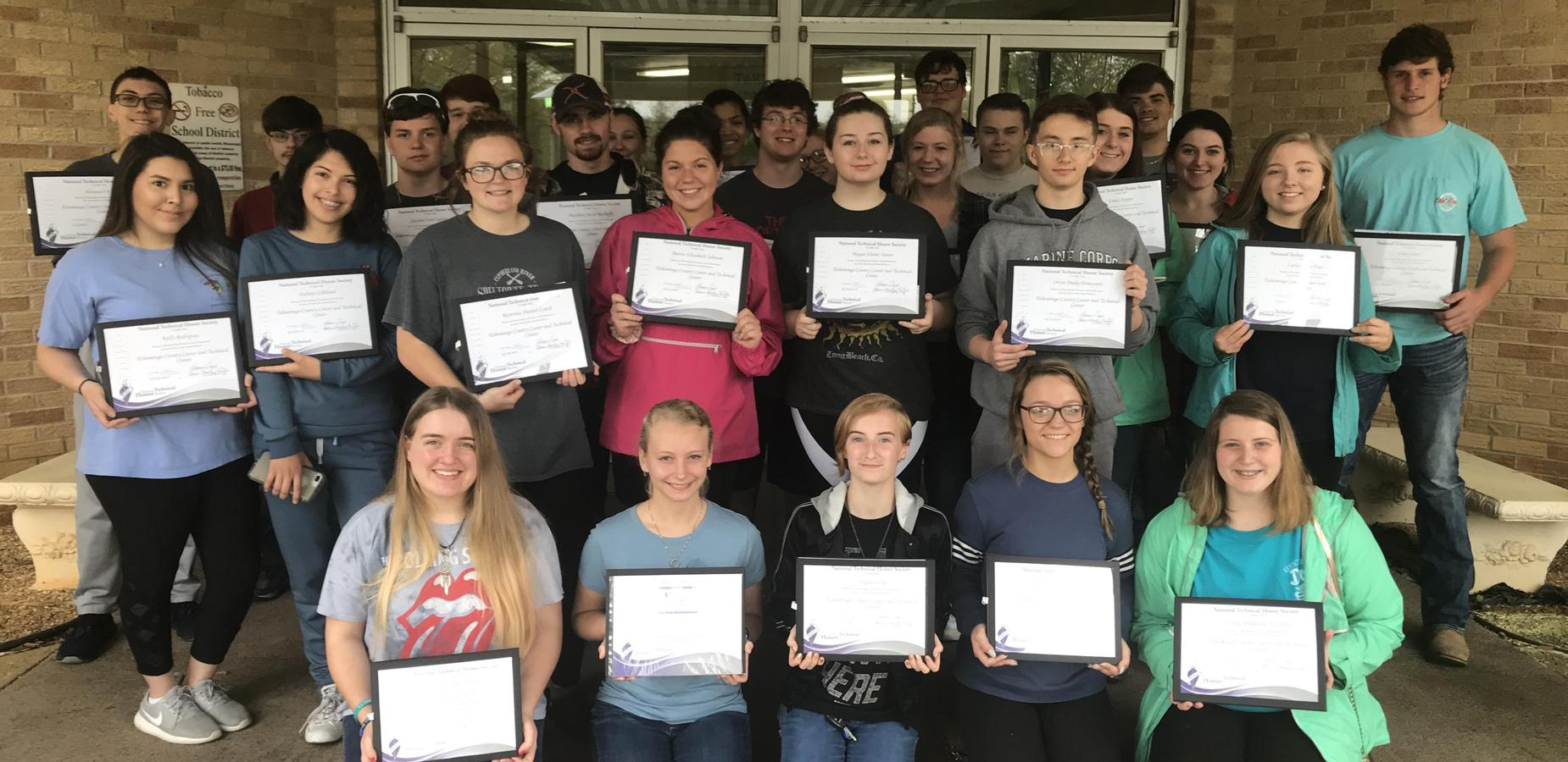 TCCTC National Technical Honor Society Members