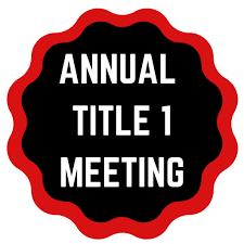 Title I Informational Meeting/Reunión Informativa Anual de Título I Featured Photo