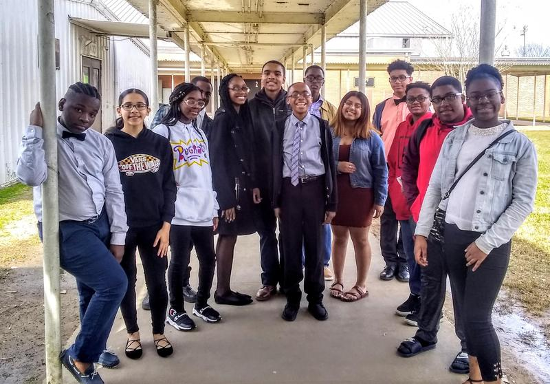 Region X UIL Choral Solo & Ensemble Competition Abraham Lincoln Middle School Featured Photo