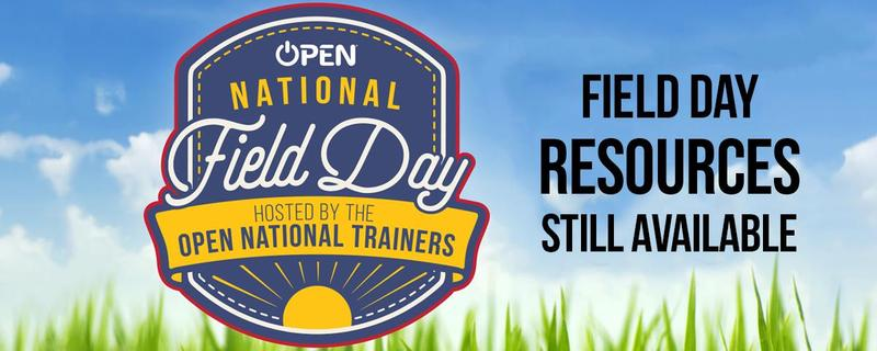 National Field Day graphic
