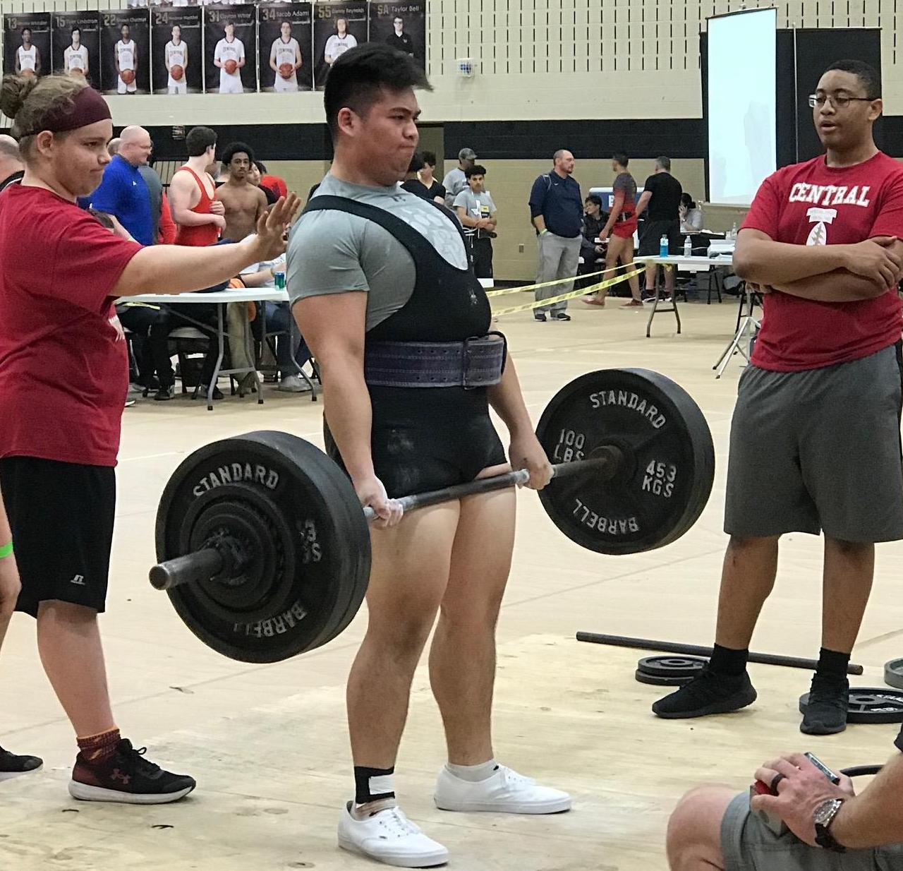 Brewer High School powerlifter Isaac Vielma competed in the Region 6 Powerlifting Meet on March 2 and hit his personal best in the 275 lb. weight class.  To qualify for regionals, athletes must be in the top 12 of their weight class.
