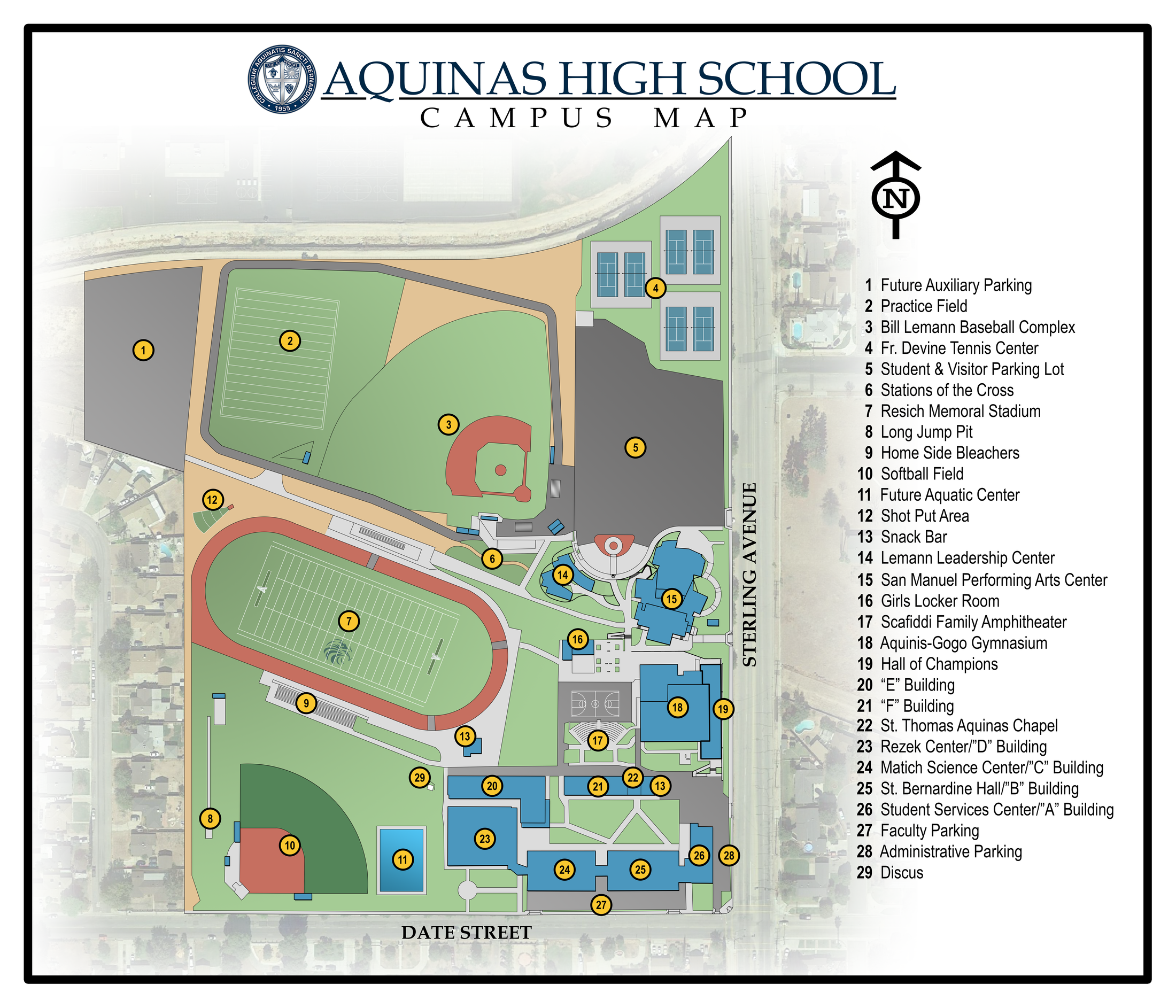 Campus Map About Us Aquinas High School