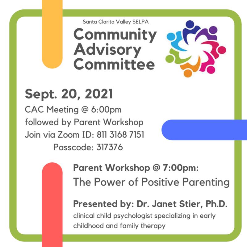 CAC Parent Workshop