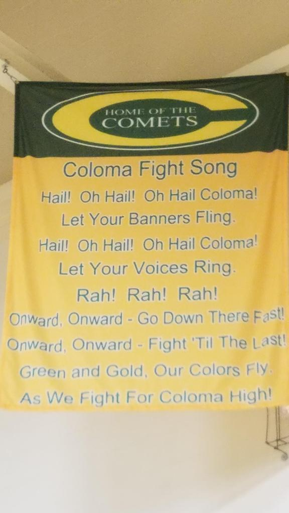 Coloma Fight Song