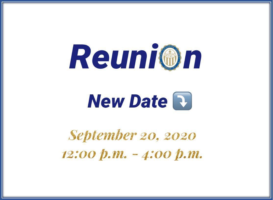 Reunion new date