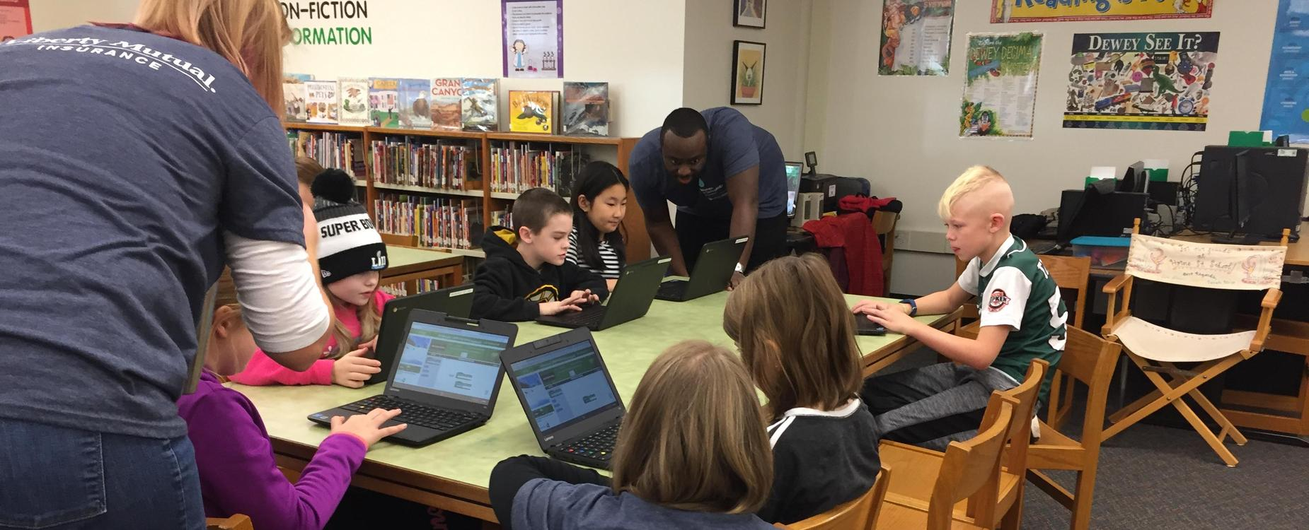 Hour of Code with Liberty Mutual
