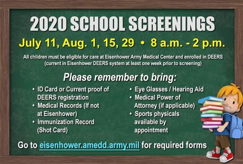 Fort Gordon Screenings