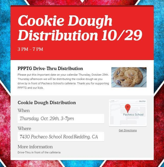 Cookie distribution