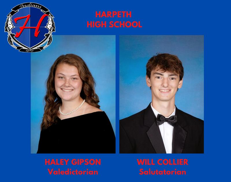 Haley Gipson and Will Collier