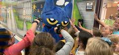 Pete the Cat Visiting