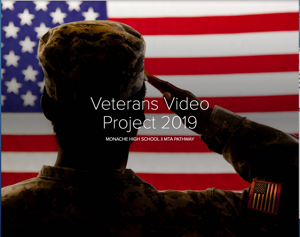 Telling Their Stories: MTA students help veterans do that with website Featured Photo