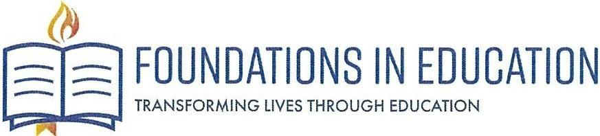 Foundations in Education Header