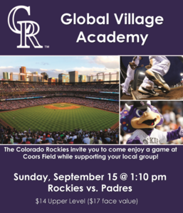 Colorado Rockies flyer