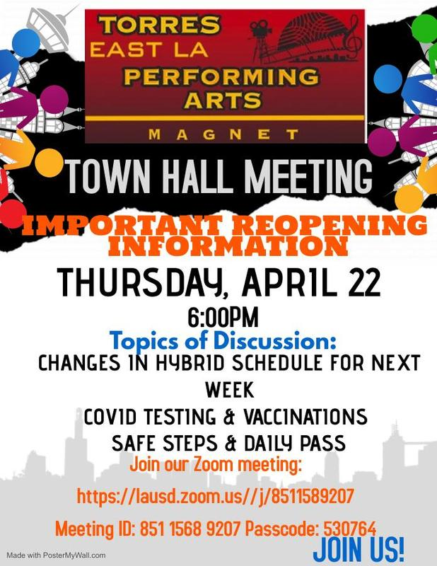 Townhall Meeting Flyer - ABRIL 22 Featured Photo