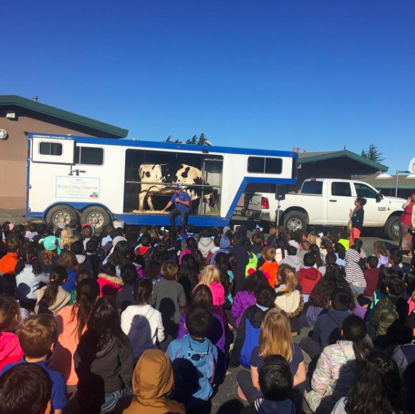 Mobile Dairy Classroom