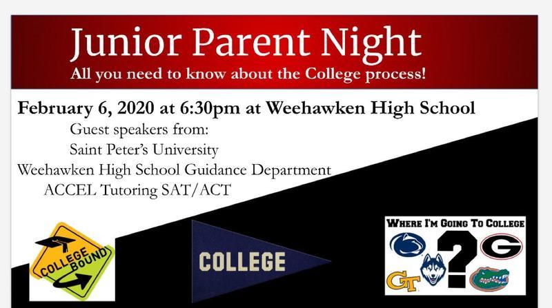 Junior Parent Night