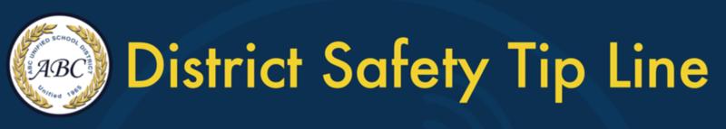District Safety Tip Line