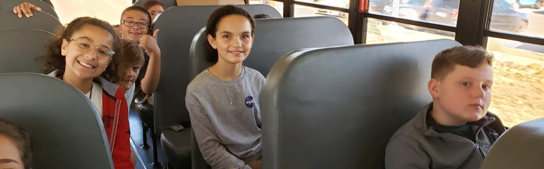 Traveling to Science Fair