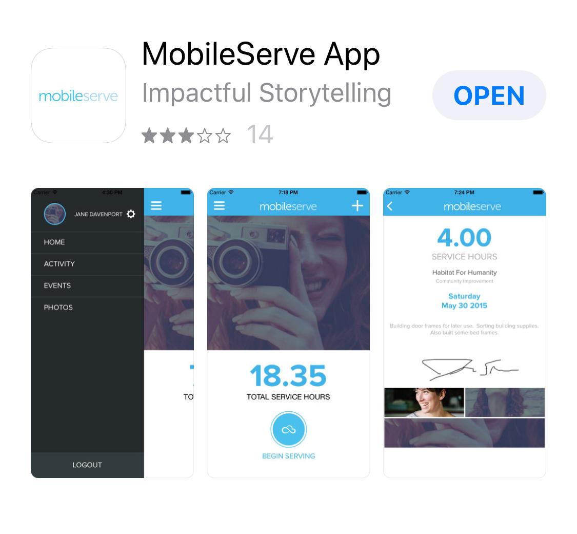 MobileServe App Graphic