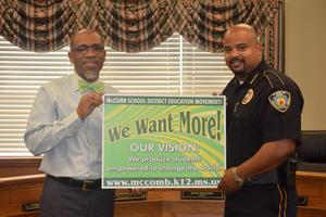 McComb Police Chief endorse Education Movement