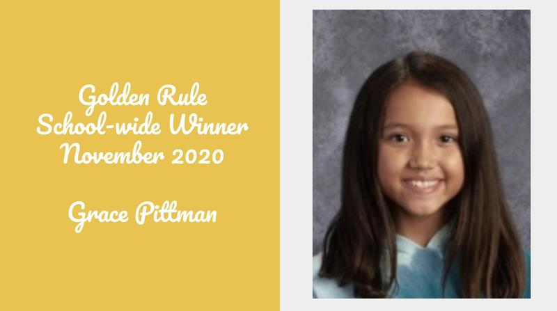 Golden Rule Student of the Month - November Featured Photo