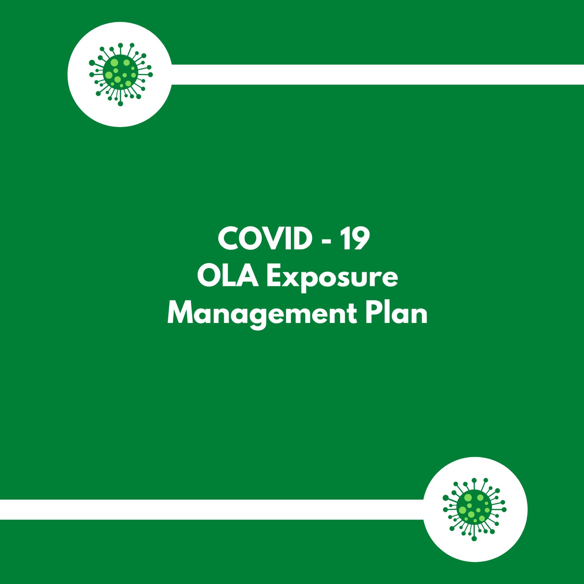 OLA Management Plan