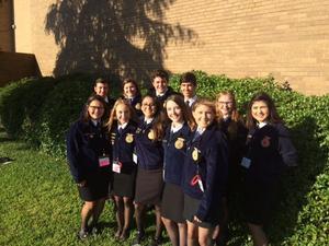 MHS FFA State Delegates