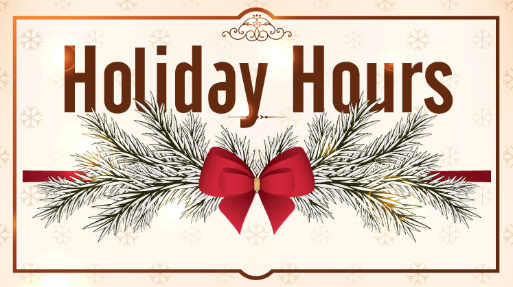 District Office Holiday Hours Thumbnail Image