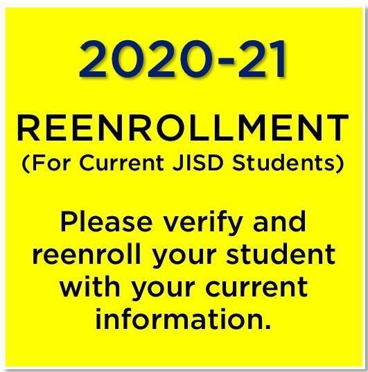 reenrollment information